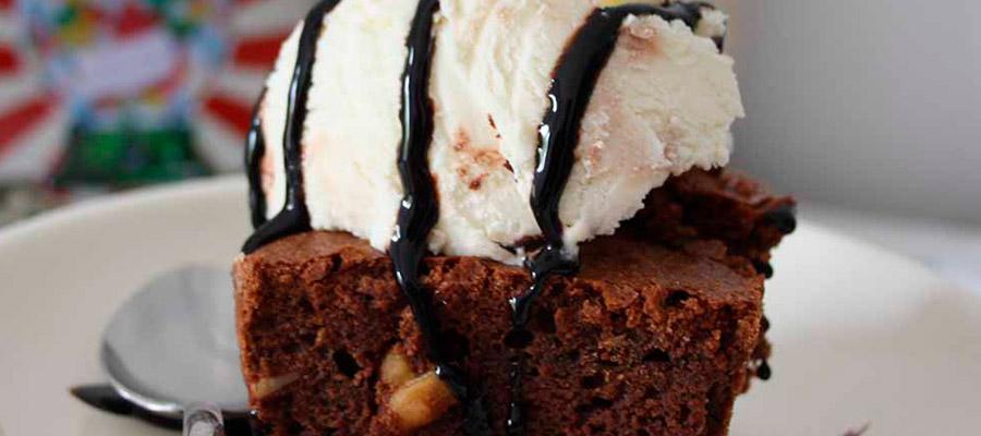 Brownie o Coulant con Helado