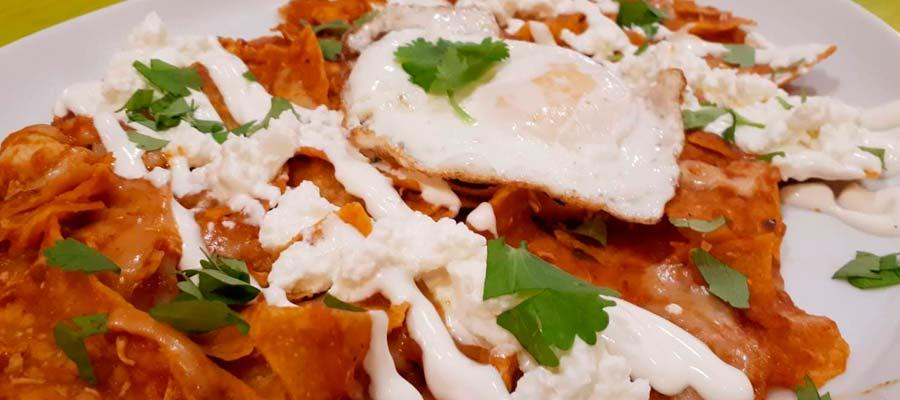 Chilaquiles Mex con Huevo